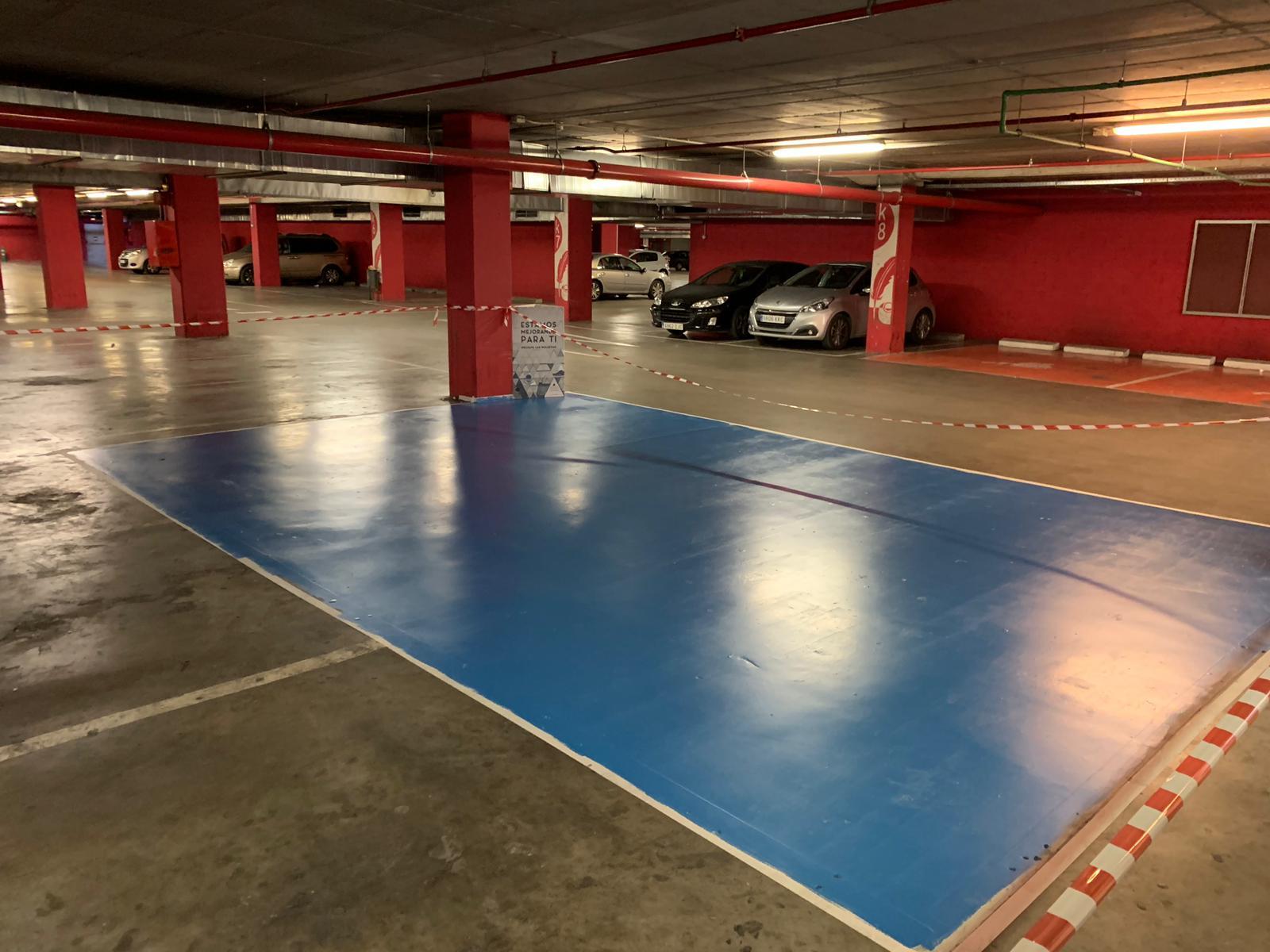 Pintura parkings