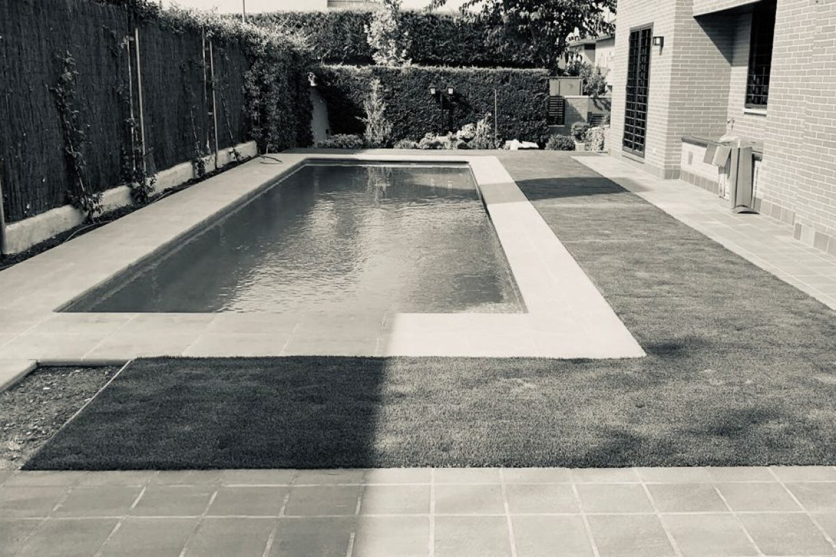 Reforma terraza piscina